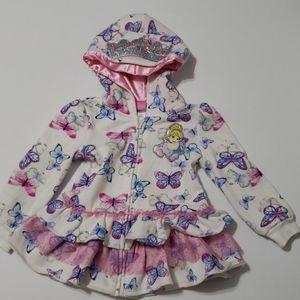 Cinderella butterfly hoodie